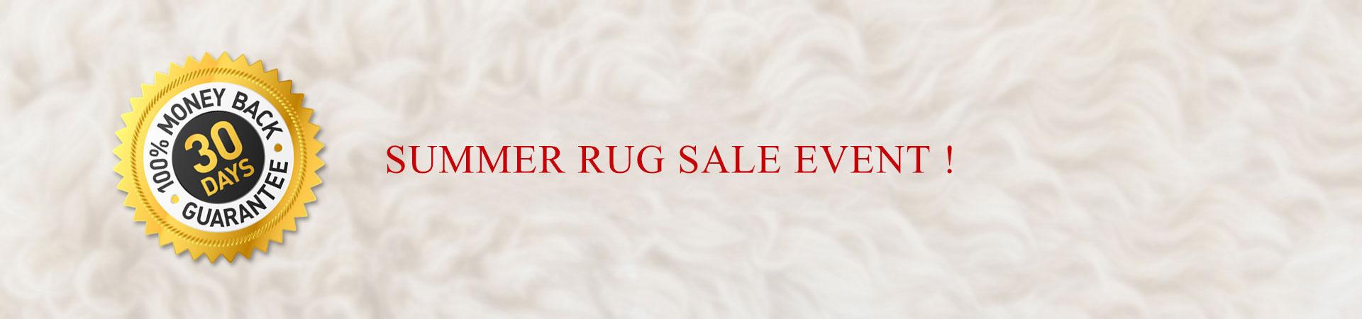 Summer Rug Sale Event !